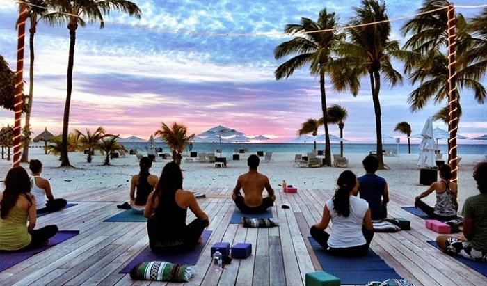 Калории при занятии йоге